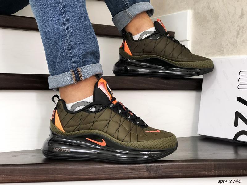 Nike air max 720 khaki мужские демисезонные кроссовки найк осе...