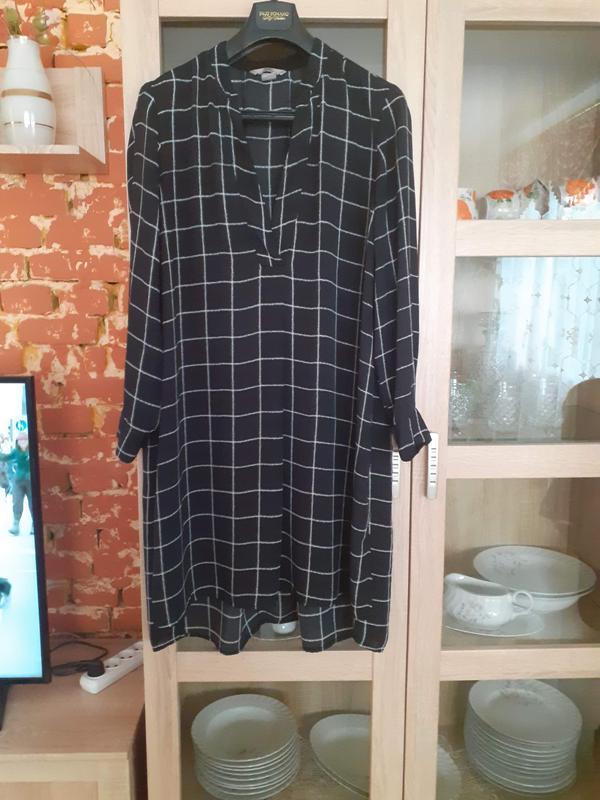 Суперовое платье рубашка туника с разрезами по бокам большого ...