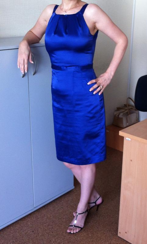 Вечернее платье-сарафан incity