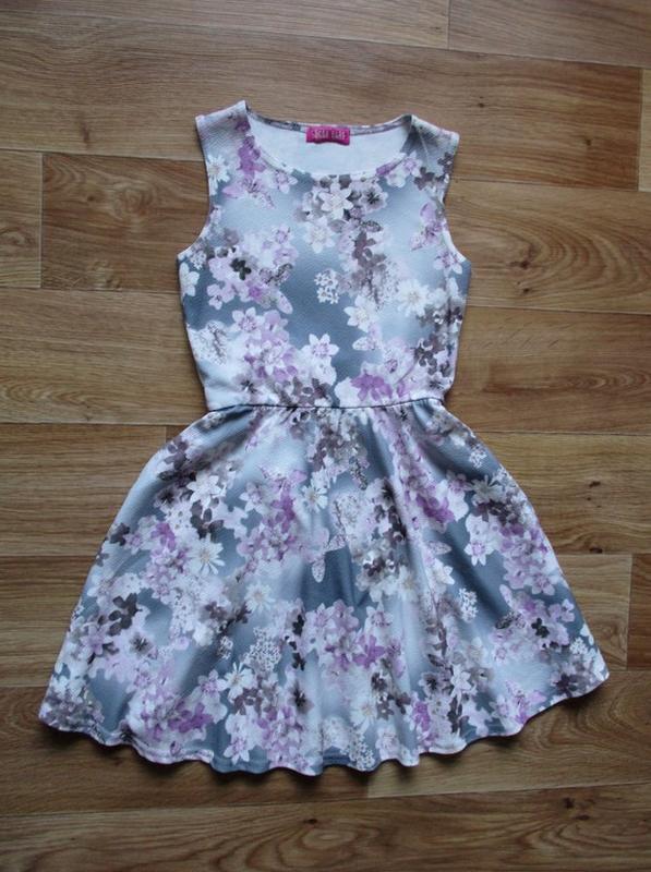 Красивейшее платье в цветочках