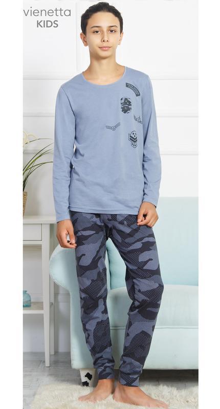 Пижамы для мальчиков vienetta secret от 11 до 16 лет