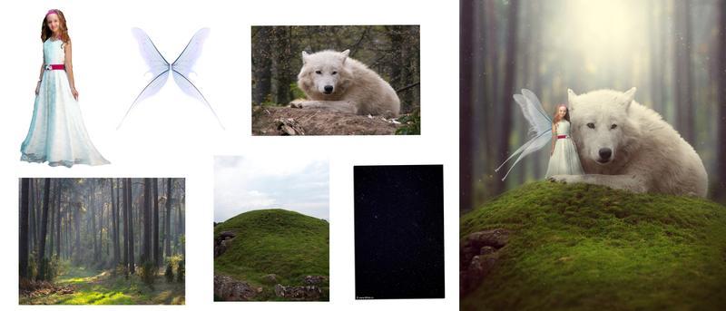 Сказочная, волшебная обработка, ретушь фотографии в Adobe Phot... - Фото 2