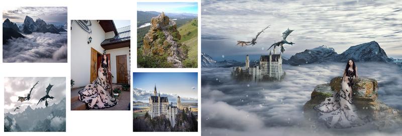 Сказочная, волшебная обработка, ретушь фотографии в Adobe Phot... - Фото 4