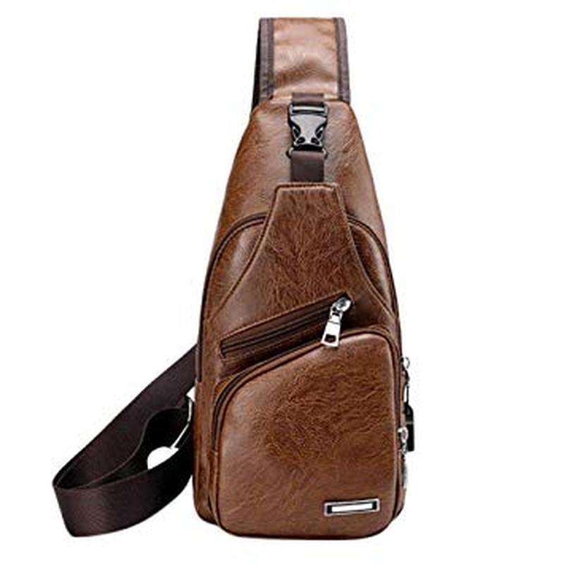 Мужская чоловіча сумка городской рюкзак сумка слинг бананка. p...