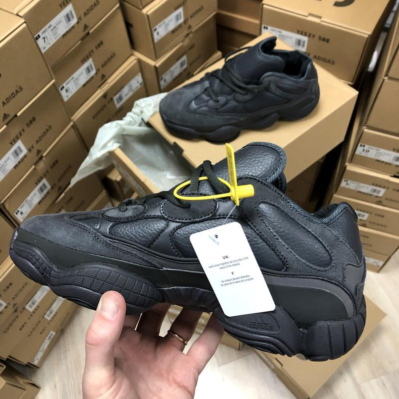 Кроссовки мужские adidas yeezy boost 500 с мехом