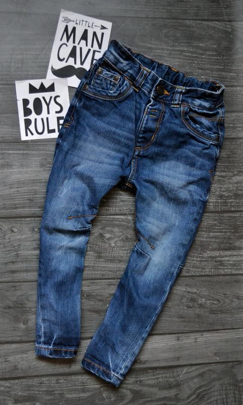 Офигенные джинсы george большомерят 2-3года