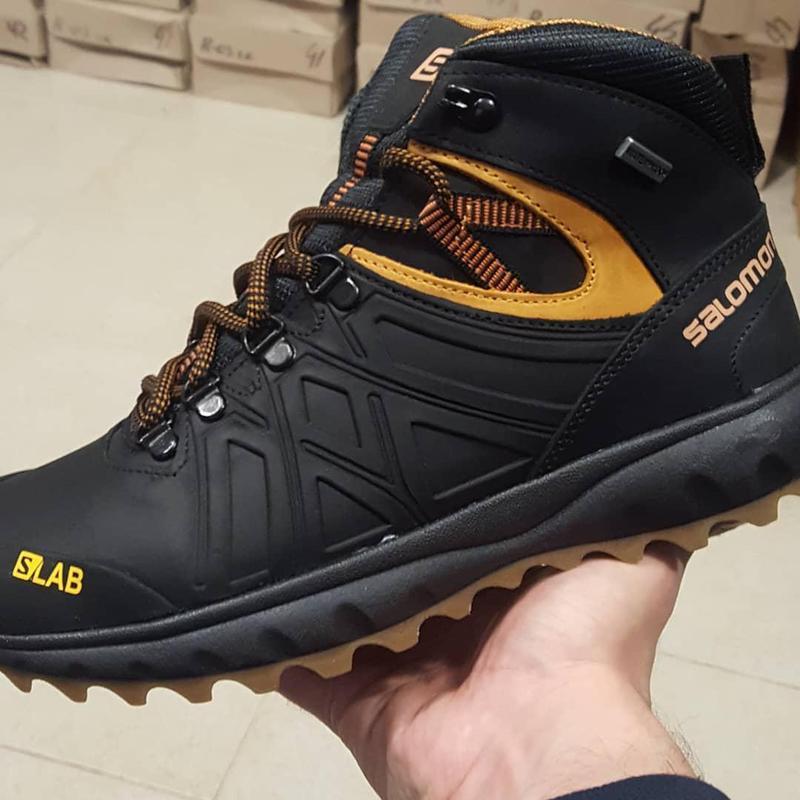 Мужские зимние кожаные ботинки s7 ч\ж бот