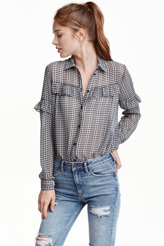 Рубашка h&m женская bl011