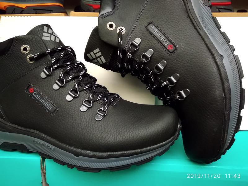 Ботинки мужские кожаные - Фото 4