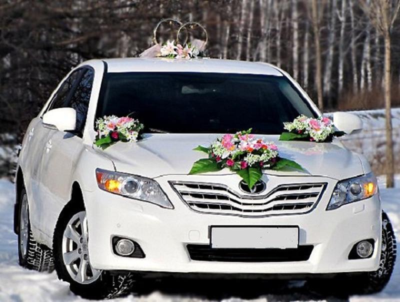 Свадебное авто, трансфер, аренда авто Toyota Camry (с водителем).