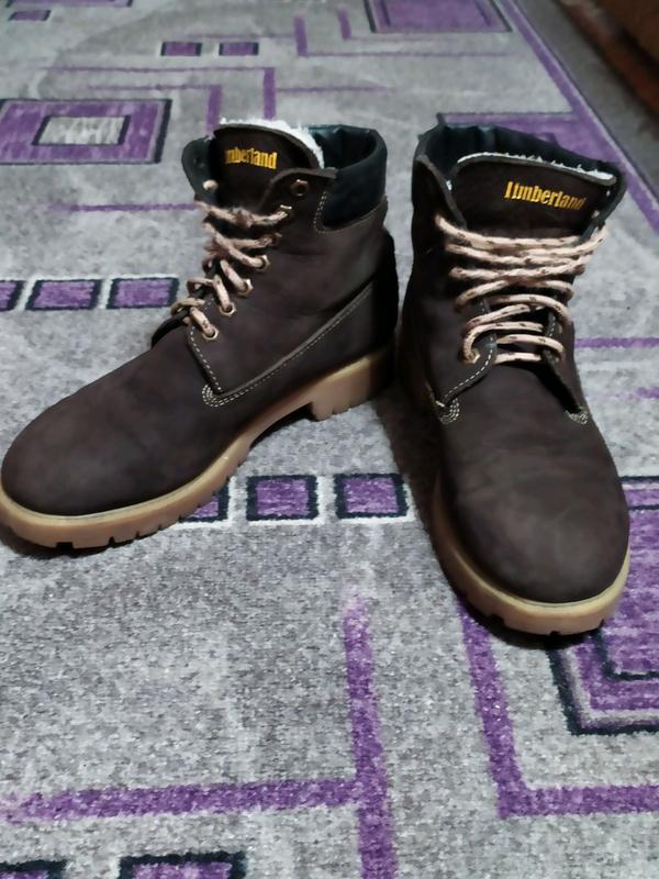 Продам ботинки зимние Timberland