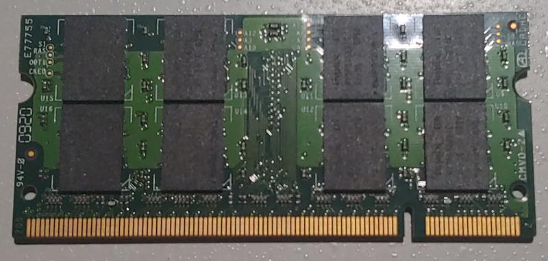 Память SoDimm DDR2-6400s Hynix 2Gb 2Гб для ноутбука