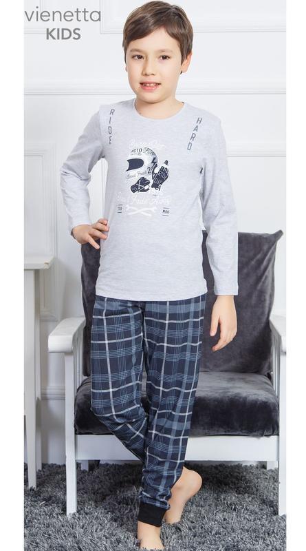 Пижамы для мальчиков vienetta secret от 9 до 12 лет