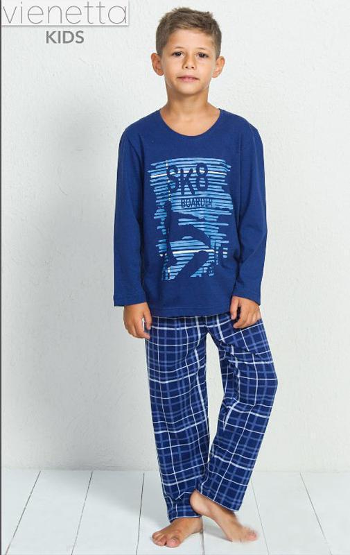 Пижамы для мальчиков vienetta secret от 9 до 16 лет