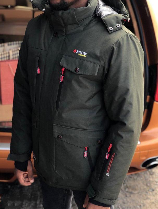Горнолыжная мужская куртка snow headquarter, зимняя, см.описание!