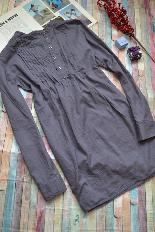 Легкая удлиненная блуза туника esprit