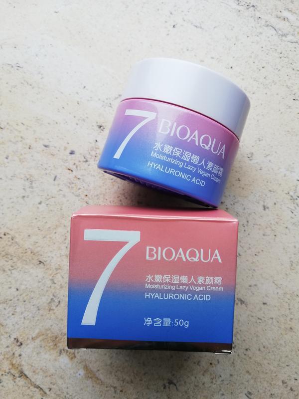 Крем для лица bioaqua 7 lazy vegan с гиалуроновой кислотой, 50 г - Фото 4