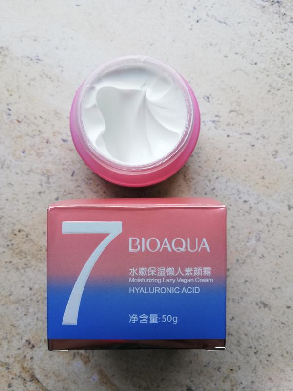 Крем для лица bioaqua 7 lazy vegan с гиалуроновой кислотой, 50 г - Фото 5