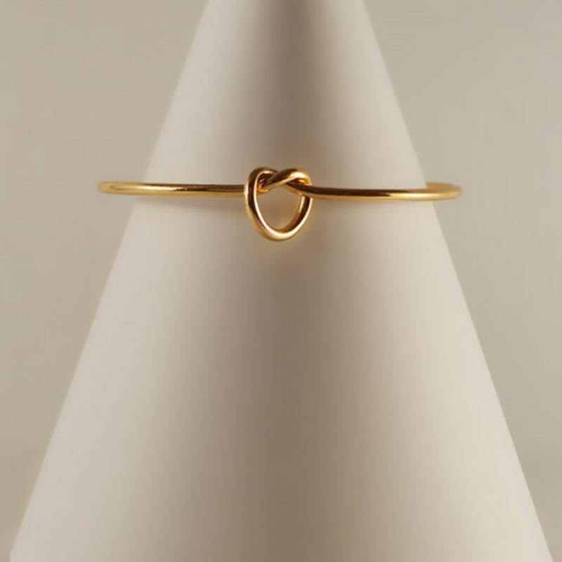 Браслет на руку - узелок, 1 шт, золото