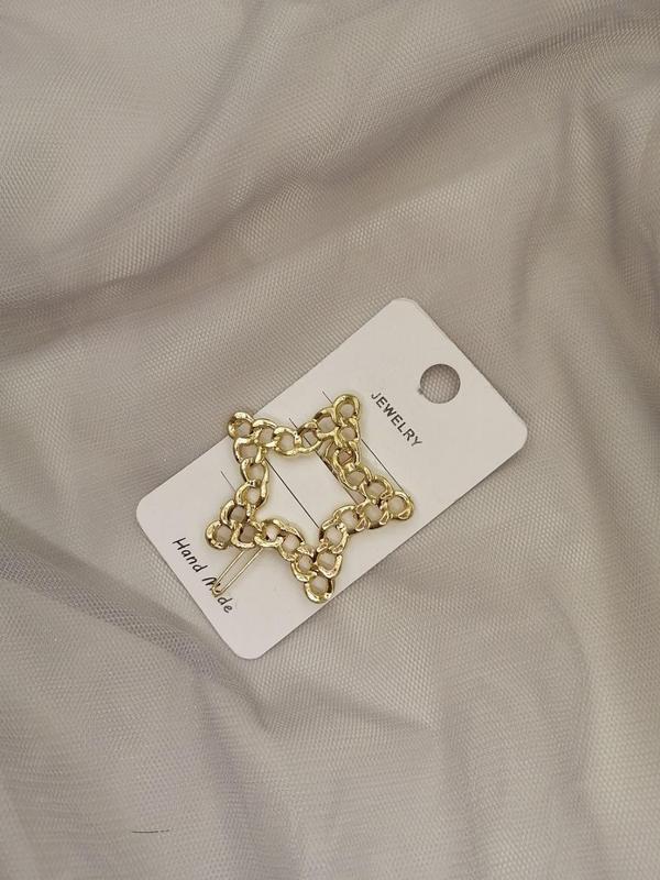 Заколка для волос hairpin chain, звезда - Фото 2