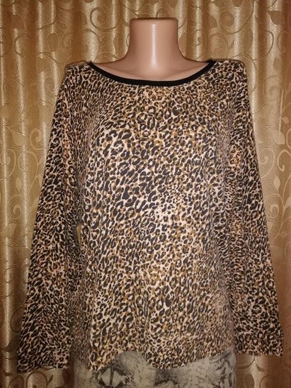 """🌺🎀🌺красивая женская """" леопардовая"""" кофта, джемпер, свитшот nex..."""