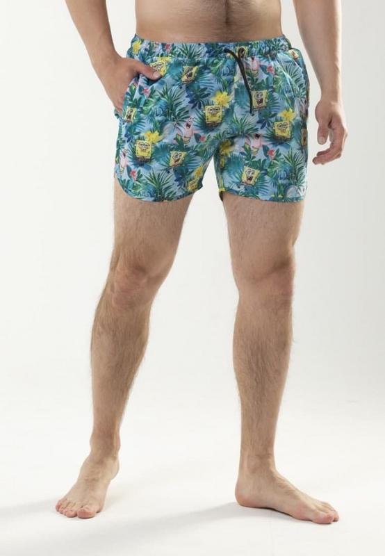 Пляжные шорты «спанч боб»