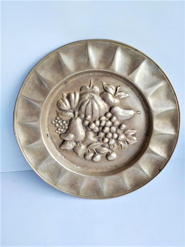 Настенная винтажная коллекционная тарелка, Германия