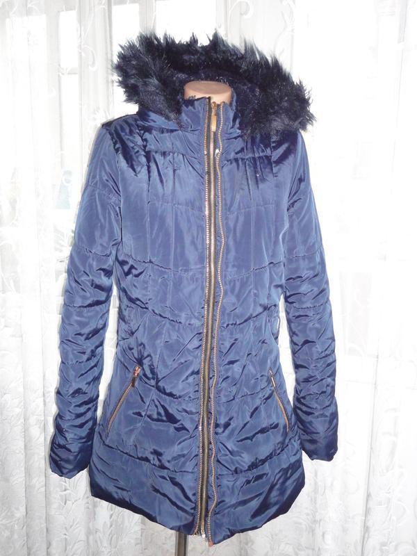 Зимнее пальто зимняя куртка tu на меху 15-16 лет надо менять м...
