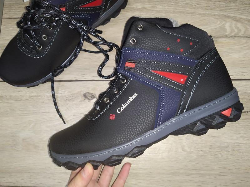 Мужские зимние ботинки теплые чоловічі зимові полуботинки зима
