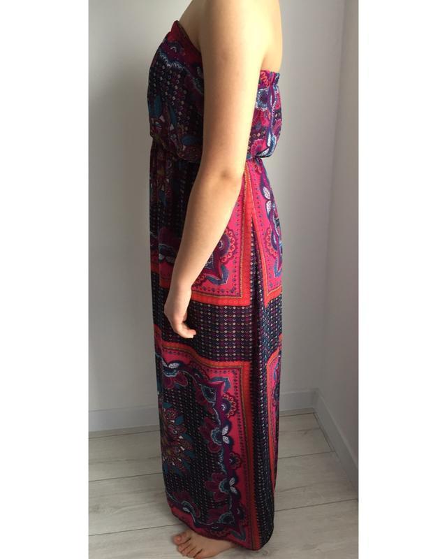 Длинное платье сарафан.