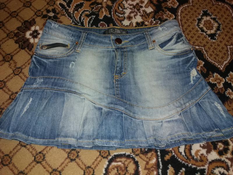 D&g юбка джинсовая