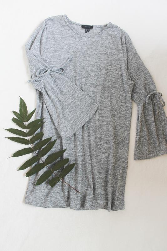 Стильное серое платье от atmosphere, размер l-xl