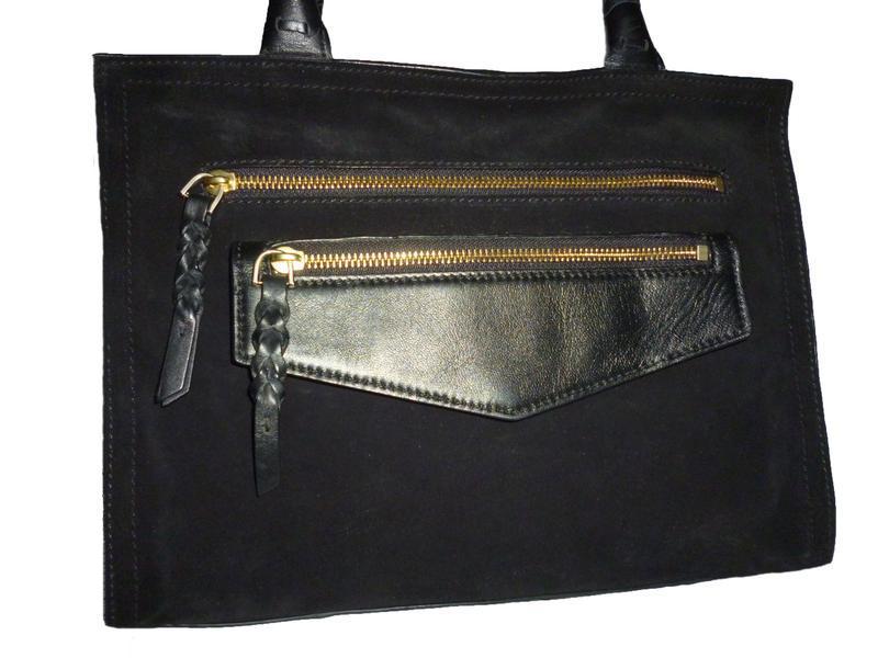 Шикарная обьемная сумка натуральная кожа autograph
