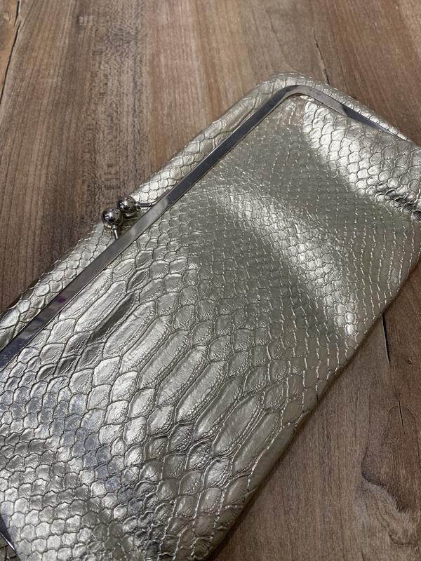 Клатч сумочка золотой