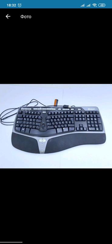 USB Клавіатура Microsoft Natural Ergonomic Keyboard