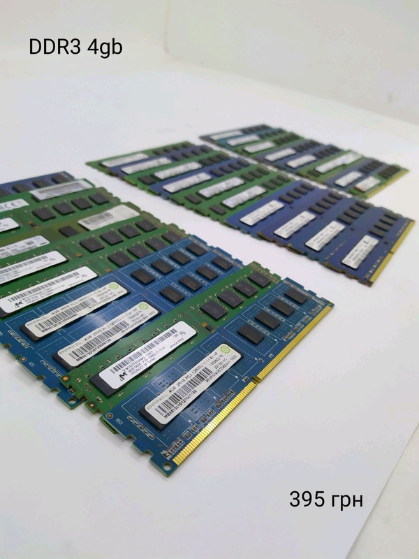 Оперативна пам'ять DDR3 4GB