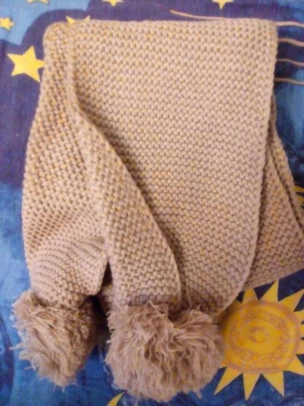 Модный зимний шарф