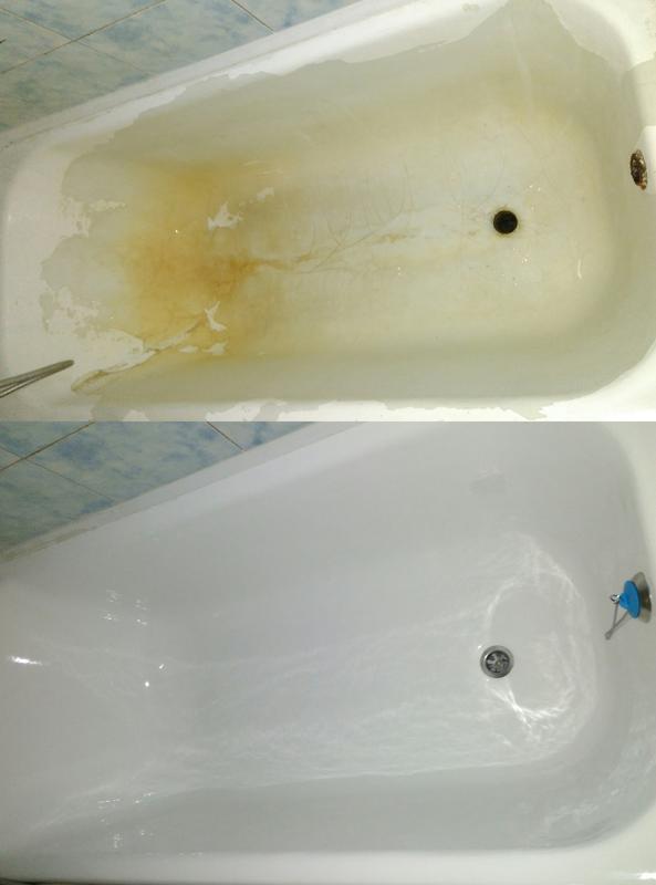"""Реставрация ванн """"Наливная ванна""""Черниговская обл. - Фото 2"""