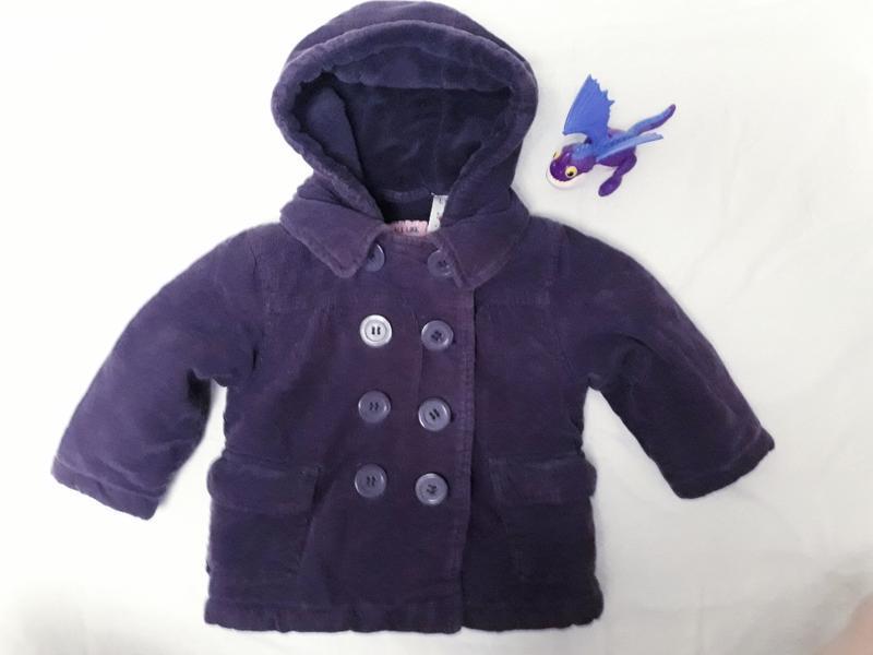 Теплая куртка для малышки