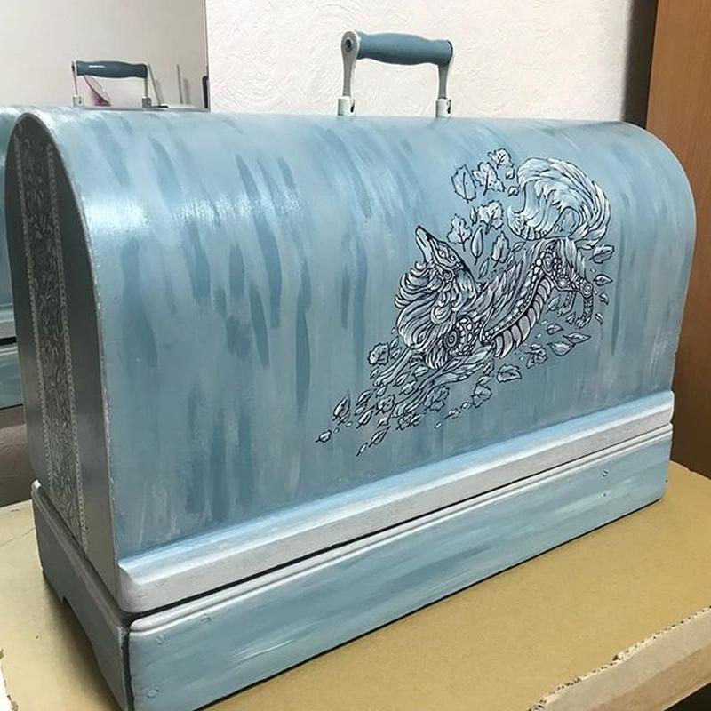 Реставрация старой мебели - придам новый вид старым вещам)
