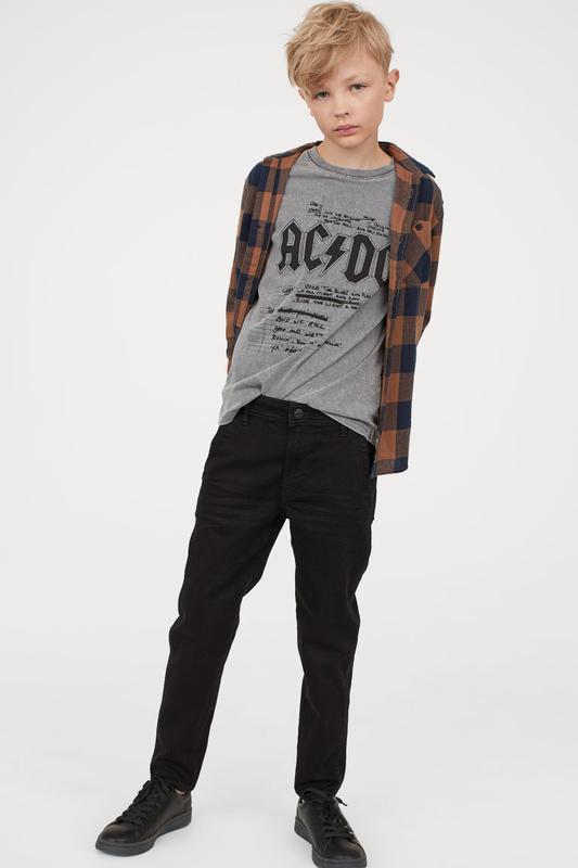 Стильные джинсики скини h&m на рост 158