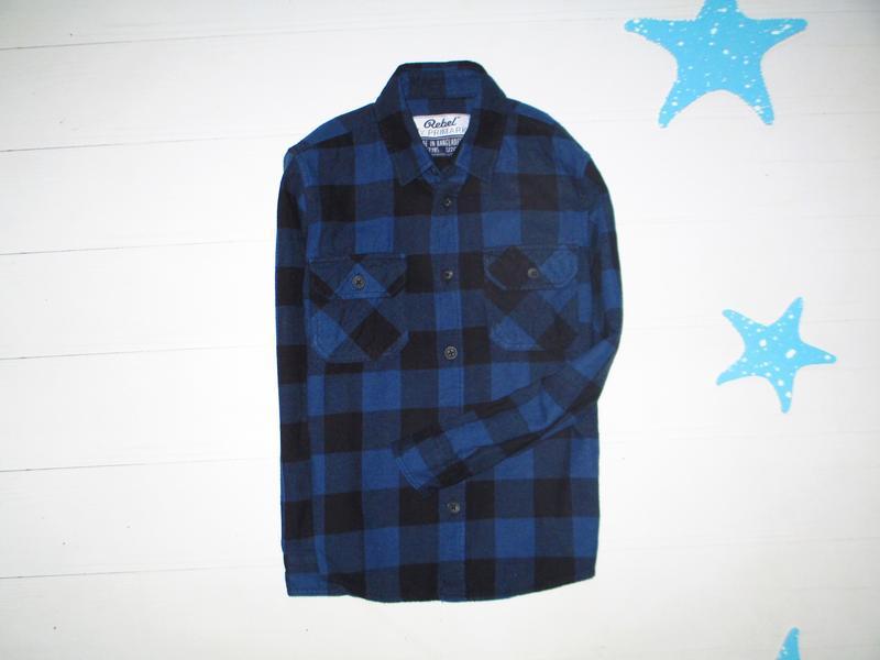 Рубашка тёплая primark на 6-7л
