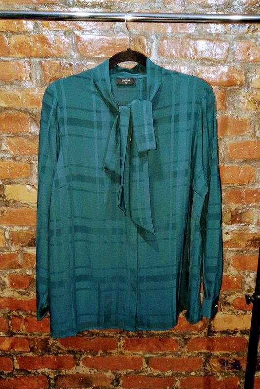 Блуза рубашка кофточка с бантом papaya