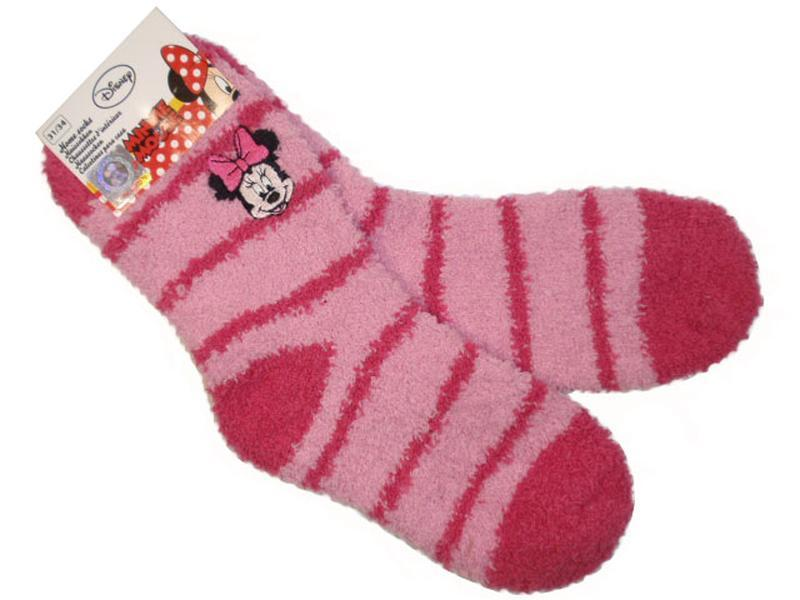 Пушистые мягкие теплые носки травка для девочки minnie disney ...