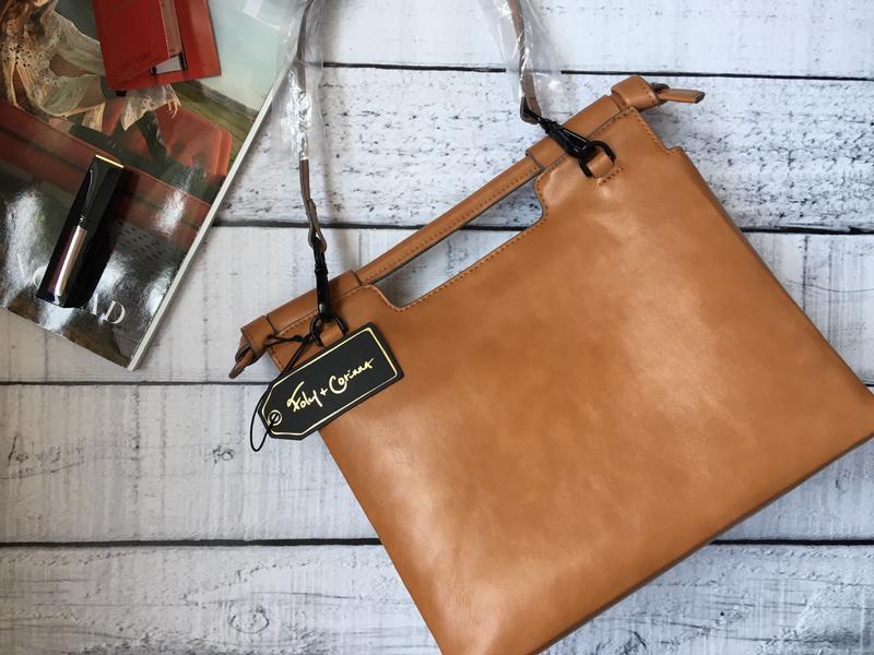 Стильная сумка от дизайнерского бренда foley+corinna - Фото 3
