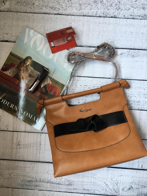 Стильная сумка от дизайнерского бренда foley+corinna - Фото 5