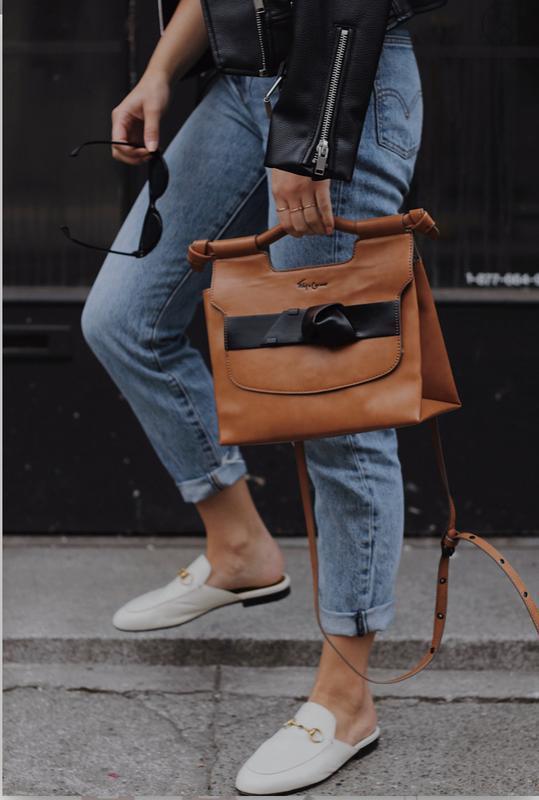 Стильная сумка от дизайнерского бренда foley+corinna - Фото 6