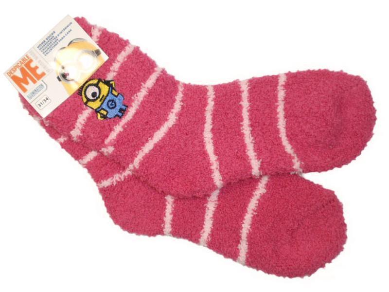 Пушистые мягкие теплые носки травка для девочки minion disney ...