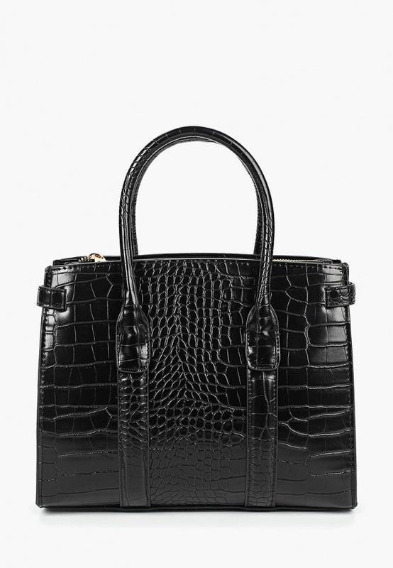 Mango новая стильная женская сумка рептилия в руках или через ...