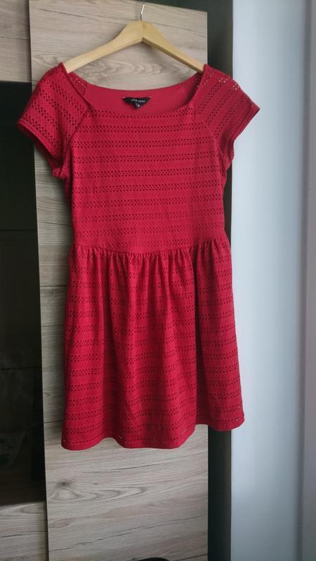 Стильное красное платье new look